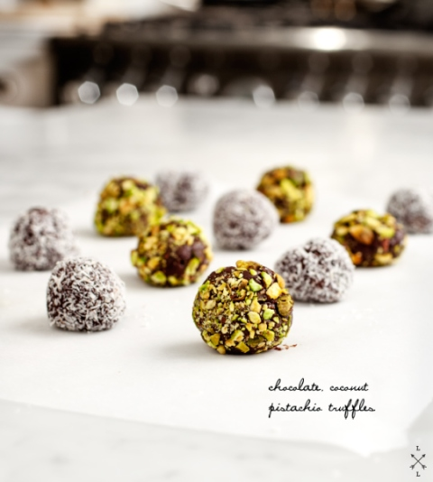 Love and Lemons_Pistachio Coconut Truffles