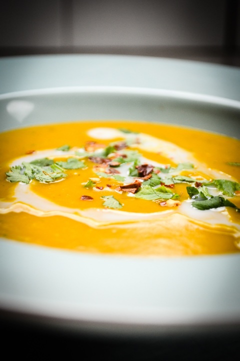 Pumpking and Coconut Soup-16