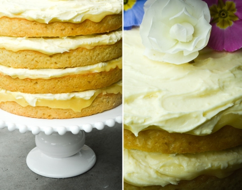 Lemon Coconut Syrup Cake_Baby Reveal Cake_03
